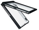 RotoComfort WDC i89G K WD AL 7/14 Electric PVC Triple Glazed Insulated Top Hung 74x140cm