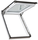 ECO+ White PVC Triple Glazed Top Hung Roof Window 78x118cm