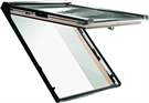 Roto WDF R89G H WD AL 5/7 Pine Triple Glazed Insulated Top Hung Roof Window 54x78cm