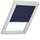 VELUX Manual Blackout Blind - 1100 Dark Blue