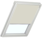 Roto ZRB QM W 1-R03 5/11 Roller Blind with White Sides - Beige