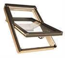 FAKRO FTP-V P2 06 Pine Laminated Centre Pivot Roof Window 78x118cm
