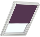 VELUX Electric Roller Blind - 4157 Dark Purple