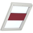 VELUX Electric Flying Pleated Blind 1269 - Classic Red