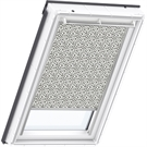 VELUX Electric Blackout Blind - 4573 Graphic Pattern