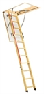 FAKRO Lux LWL 01 3-Section 2.8m Long Wooden Loft Ladder 60x120cm