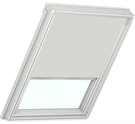 Bloc Multi-Fit Blackout Blind for Roto 320 7/14 - Light Grey