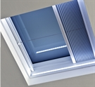 ECO+ Manual White Pleated Blind for Flat Roof Window 60x90cm