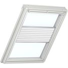 Roto ZFA M 73 M 1-F01 5/7 Pleated Blind with White Sides - White