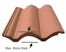 FAKRO EZJ-A Recessed Tile Flashing