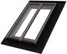 Heritage Conservation Electric Top Hung Roof Window with Tile Flashing 71.5x102.5cm