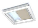 VELUX FMG 100100 1259 Electric Pleated Blind - Classic Sand