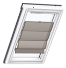 VELUX FHB BK04 6518 Roman Blind - Structured Chocolate