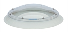 Circular Electric Dome Triple Skin, Opaque with Wall Switch 95cm
