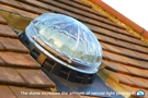 Lightway Crystal 400 HP Basic Kit for Pitched Roof 1.6m with Blue Performance 0.6 W/m²K