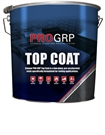 Cromar PRO 25 GRP Topcoat - Fire Retardant - 10kg - Dark Grey