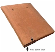 VELUX EDP CK02 0000 Plain Tile Flashing 55x78cm