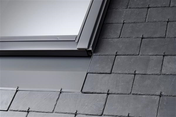 VELUX EBL 0021B Twin Combination Slate Flashing 18mm Gap