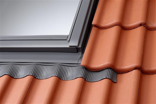 VELUX EBW 0021C Twin Combination Tile Flashing 50mm Gap