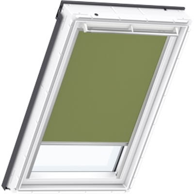Velux Dfd Mk04 4567 Duo Blackout Blind Olive Green