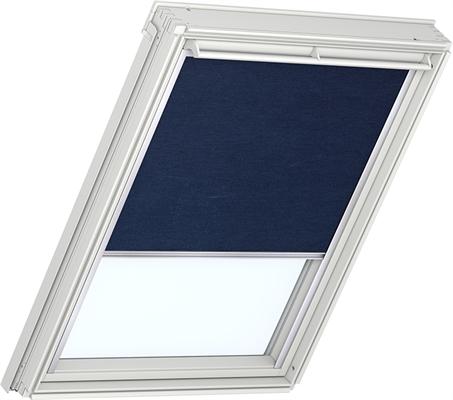 Velux rfl m06 306 14 9050 roller blind dark blue for Velux bk04