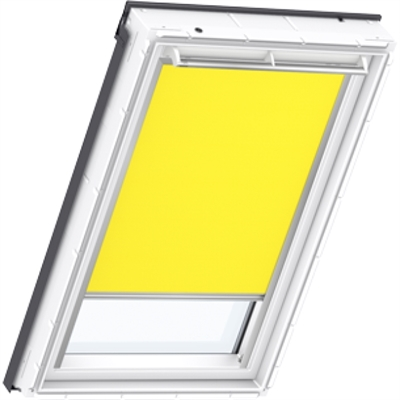 VELUX yellow blackout blind