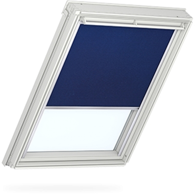 VELUX blue blackout blind