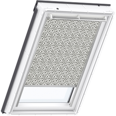 VELUX graphic pattern blackout blind