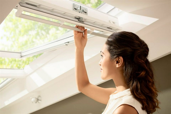 VELUX centre pivot windows are easy to operate