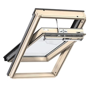 VELUX INTEGRA pine roof windows