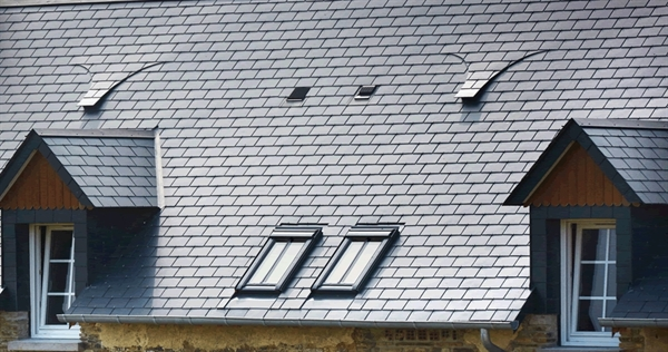 VELUX conservation roof windows on a slate roof