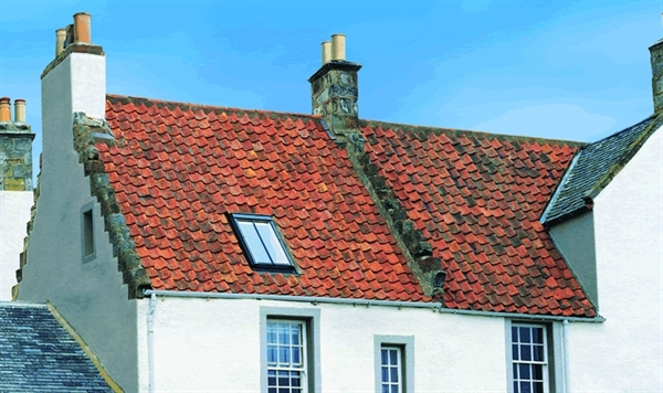 VELUX conservation flashing for plain tile roof