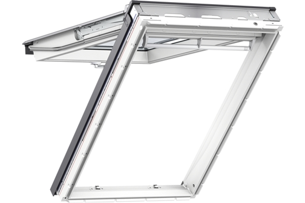 VELUX GPU 0060 White PU Noise Reduction Top Hung Roof Window