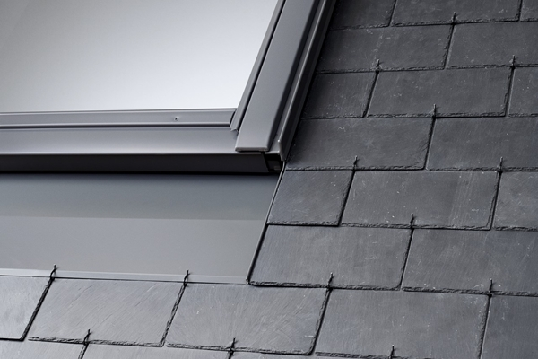 VELUX twin combination slate flashing