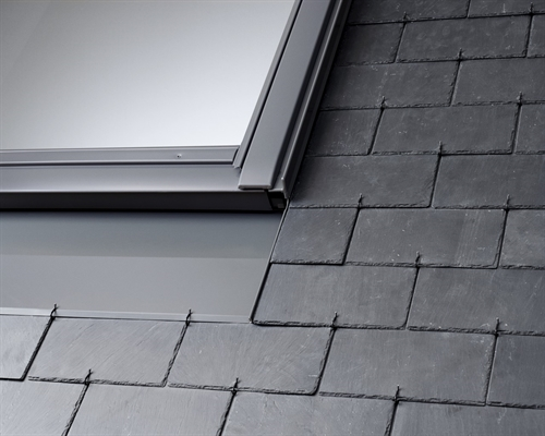 VELUX replacement slate flashing with insulation accessories