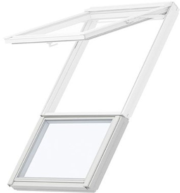 VELUX sloping and fixed combination