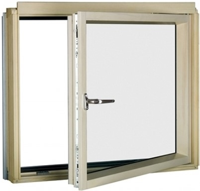 FAKRO BDR/W P2 81 White Paint Laminated Right Opening L-Shape Window 78x75cm
