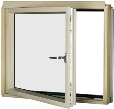 FAKRO BDL/U P2 82 White PU Laminated Left Opening L-Shape Window 78x95cm