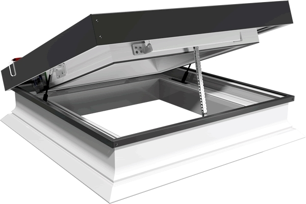 ECO+ electric flat glass rooflight
