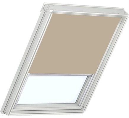velux rfl m08 308 2 4155 roller blind sand sterlingbuild. Black Bedroom Furniture Sets. Home Design Ideas