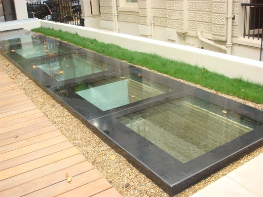 Signature External Walk-On Flat Glass Rooflight