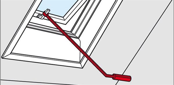 velux zcz 112 control rod for top hung windows sterlingbuild. Black Bedroom Furniture Sets. Home Design Ideas