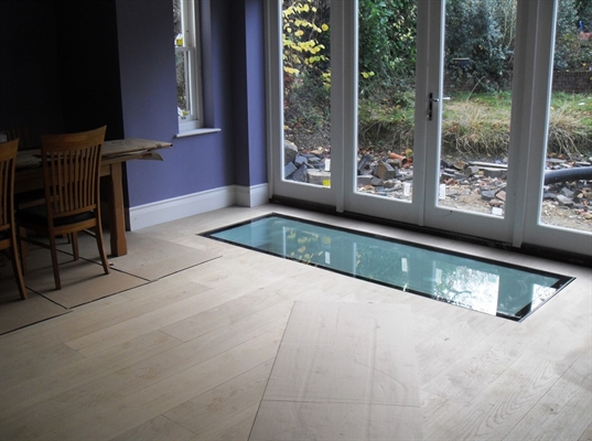 Signature Internal Walk-On Flat Glass Rooflight