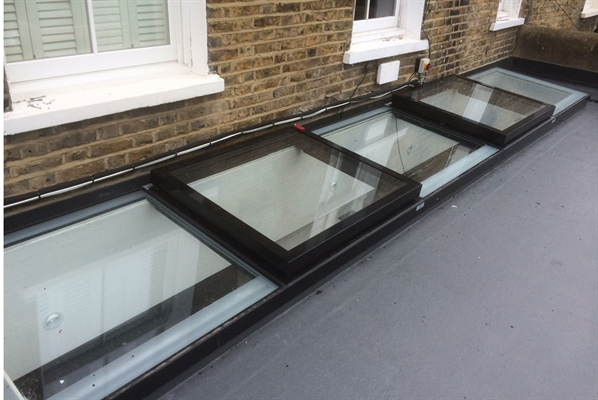 Wall Abutment Rooflight