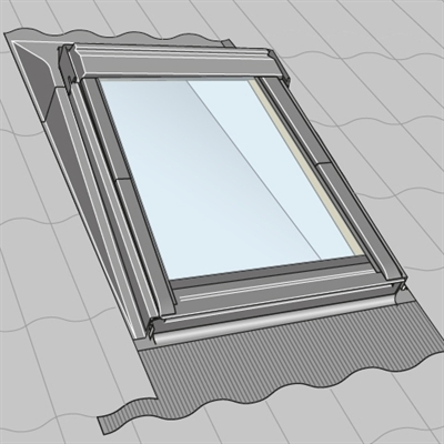 Velux Eaw Mk04 6000 Insulated Kerb Solution 78x98cm