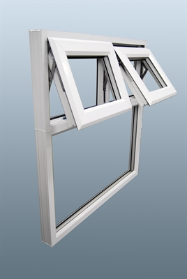 Open PVC window example