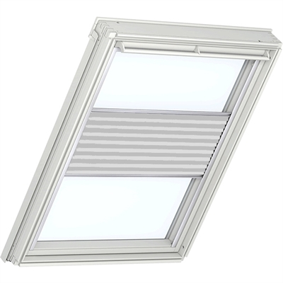 VELUX Flying Pleated Blind 1256 - Classic White