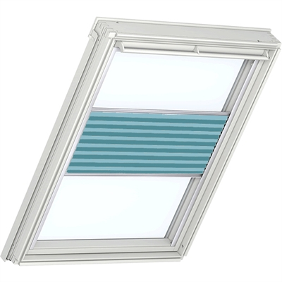 VELUX Flying Pleated Blind 1272 - Sunny Blue