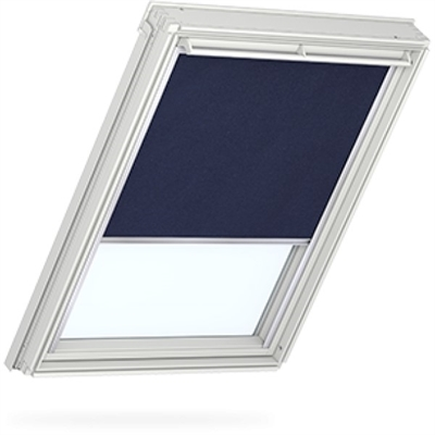 VELUX dark blue blackout blind