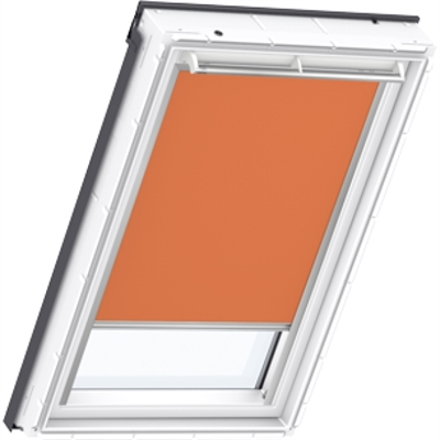 VELUX orange blackout blind
